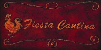 FIESTA CANTINA Art Print