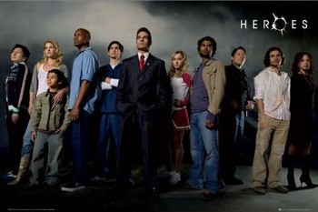 HEROES - cast Poster