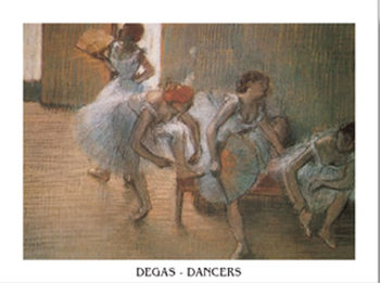 In the Dance Studio, 1897 Art Print
