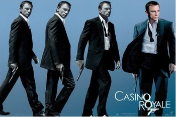 JAMES BOND 007 - casino royale  Poster, Art Print