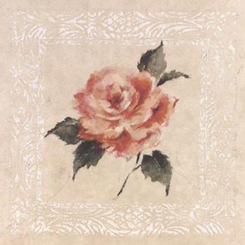 Jardin Rose l Art Print