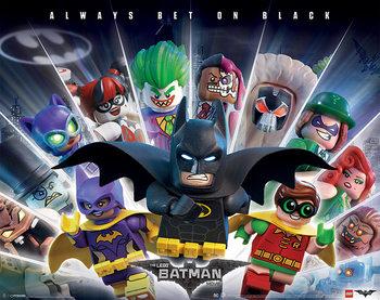Lego® Batman - Always Bet On Black Poster