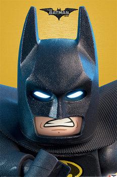 Lego Batman - Close Up Poster