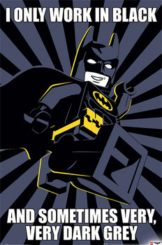 Lego Batman - Meme Poster