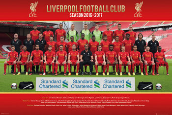 Liverpool - Team Photo 16/17 Poster