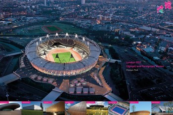 Pôster LONDON 2012 - olympic venues