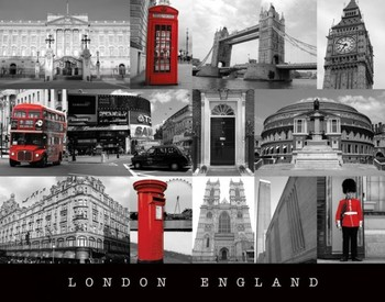 London - england Poster, Art Print