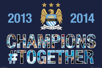 Manchester City FC - Premiership Poster