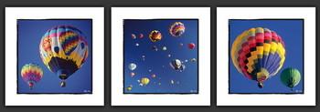 Mandial Air Ballons and Albuquerque Art Print
