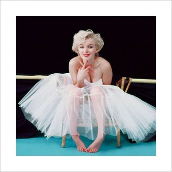 Marilyn Monroe - Ballerina - Colour Art Print