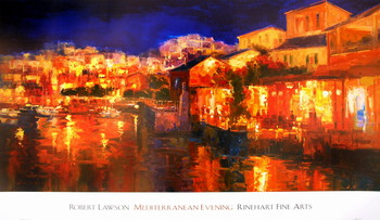 Mediterranean Evening Art Print