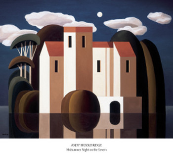 Midsummer Night on the Severn Art Print