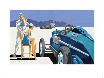 Mike Maurice - Bonneville Salt Flats 2 Art Print