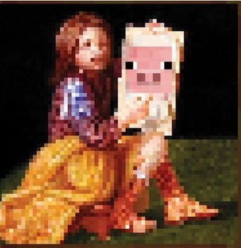 Poster  Minecraft - pig