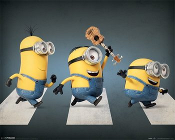 Pôster Minions - Abbey Road