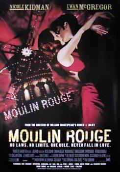 Moulin Rouge - Nicole Kidman, Ewan Mc Gregor (Nachdruck) Poster