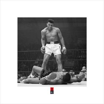 Muhammad Ali v Liston  Art Print