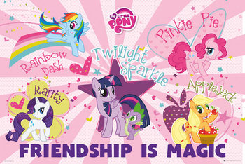 Pôster My Little Pony - Friendship Is Magic