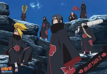 Naruto Shippunden Akatsuki - Tobi, Hidan, Kakuzu, Deid Poster