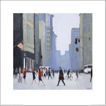 New York - 5th Avenue Art Print