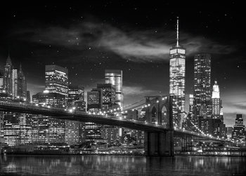 Pôster New York - Freedom Tower (B&W)