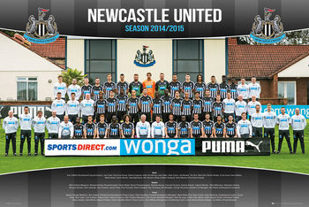 Poster Newcastle United FC - Team Photo 14/15