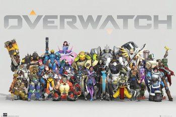 Poster Overwatch - Anniversary Line Up