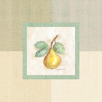 Pear Inside Art Print