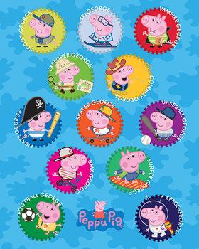 Poster Peppa Pig - George