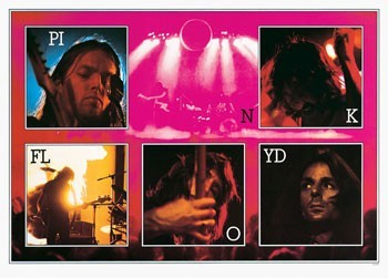 Pink Floyd - live Poster