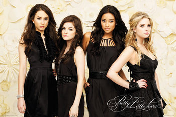 Pretty Little Liars - Black Dresses Poster
