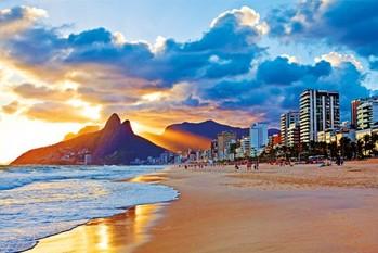 Poster Rio de Janeiro - Beach