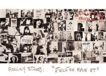 Rolling Stones - exile on ... Poster