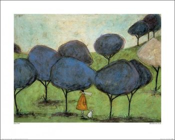 Sam Toft - Sniffing The Lilac Art Print