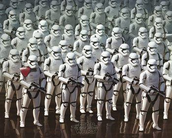 Poster  Star Wars Episode VII: The Force Awakens - Stormtrooper Army
