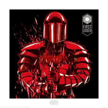 Star Wars The Last Jedi - Elite Guard First Order Art Print