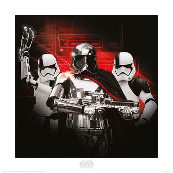 Star Wars The Last Jedi - Stormtrooper Team Art Print