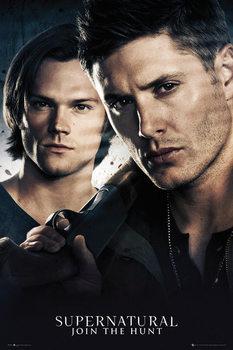 Supernatural - Brothers Poster, Art Print