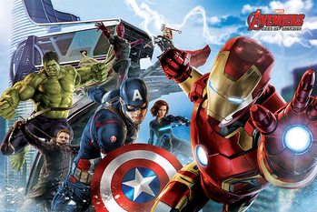 Poster The Avengers: Age Of Ultron - Re-Assemble