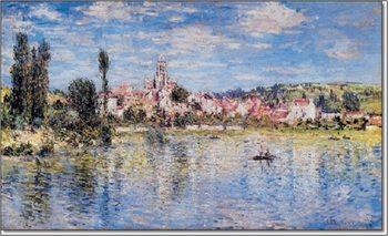 The Grand Canal and Santa Maria della Salute in Venice, 1908 Art Print