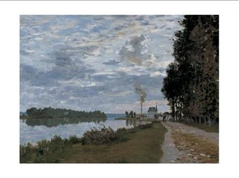 The Promenade at Argenteuil Art Print