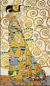 The Waiting - Stoclit Frieze, 1909 Art Print