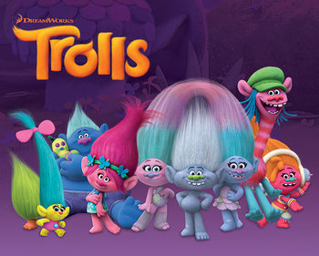 Poster Trolls - Characters