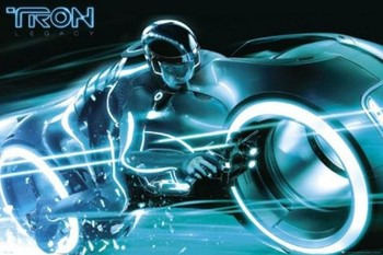 Pôster TRON - bike
