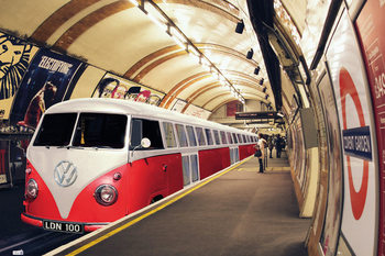 Poster VW Volkswagen Camper - tube