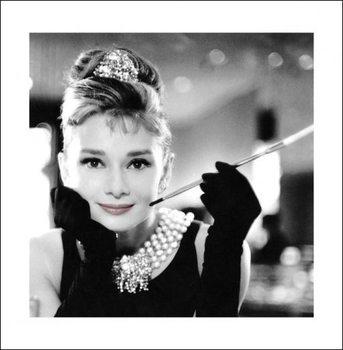 Reprodução do quadro Audrey Hepburn - Smile