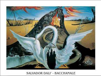 Reprodução do quadro Bacchanale, 1939