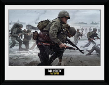 Call Of Duty: Stronghold - WWII Comraderie Poster Emoldurado