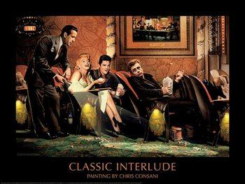 Reprodução do quadro Classic Interlude - Chris Consani