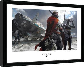 Destiny - Guardians Poster Emoldurado